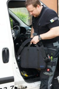 ecom-B - Abgasmessgerät Tasche