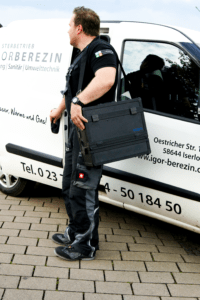 ecom-EN3 - Abgasmessgerät Koffer