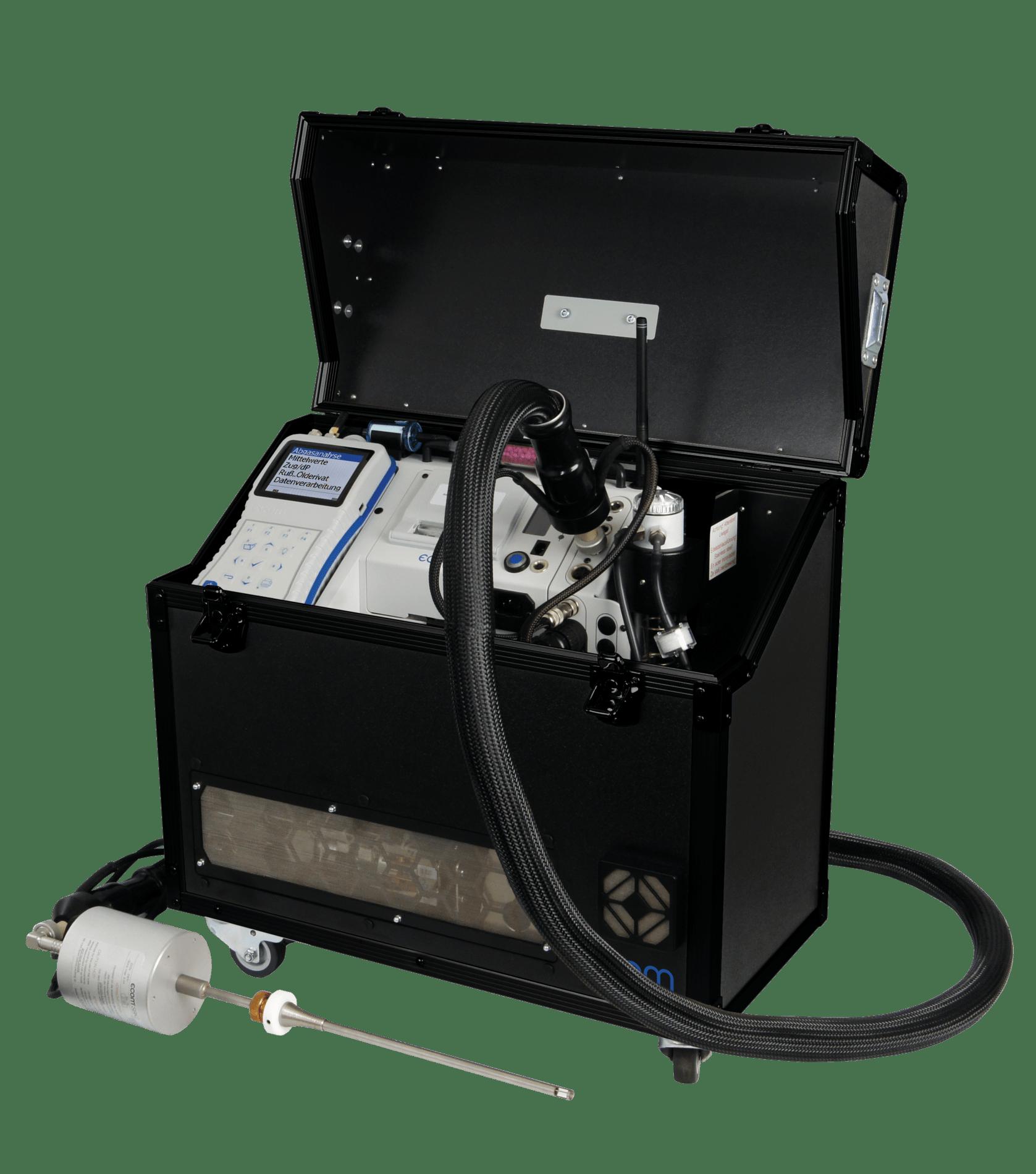 ecom-J2KNpro TECH - mobiles Emissionsmessgerät