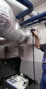 ecom-J2KNpro EASY - Abgasanalysegerät -Anwendung