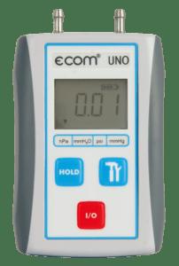 ecom-UNO -Differenzdruckmessgerät