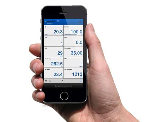 Fernanzeige auf Smartphone mittels WLAN