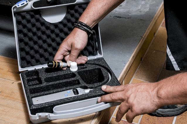 ecom-LSG - Lecksuchgerät im Koffer