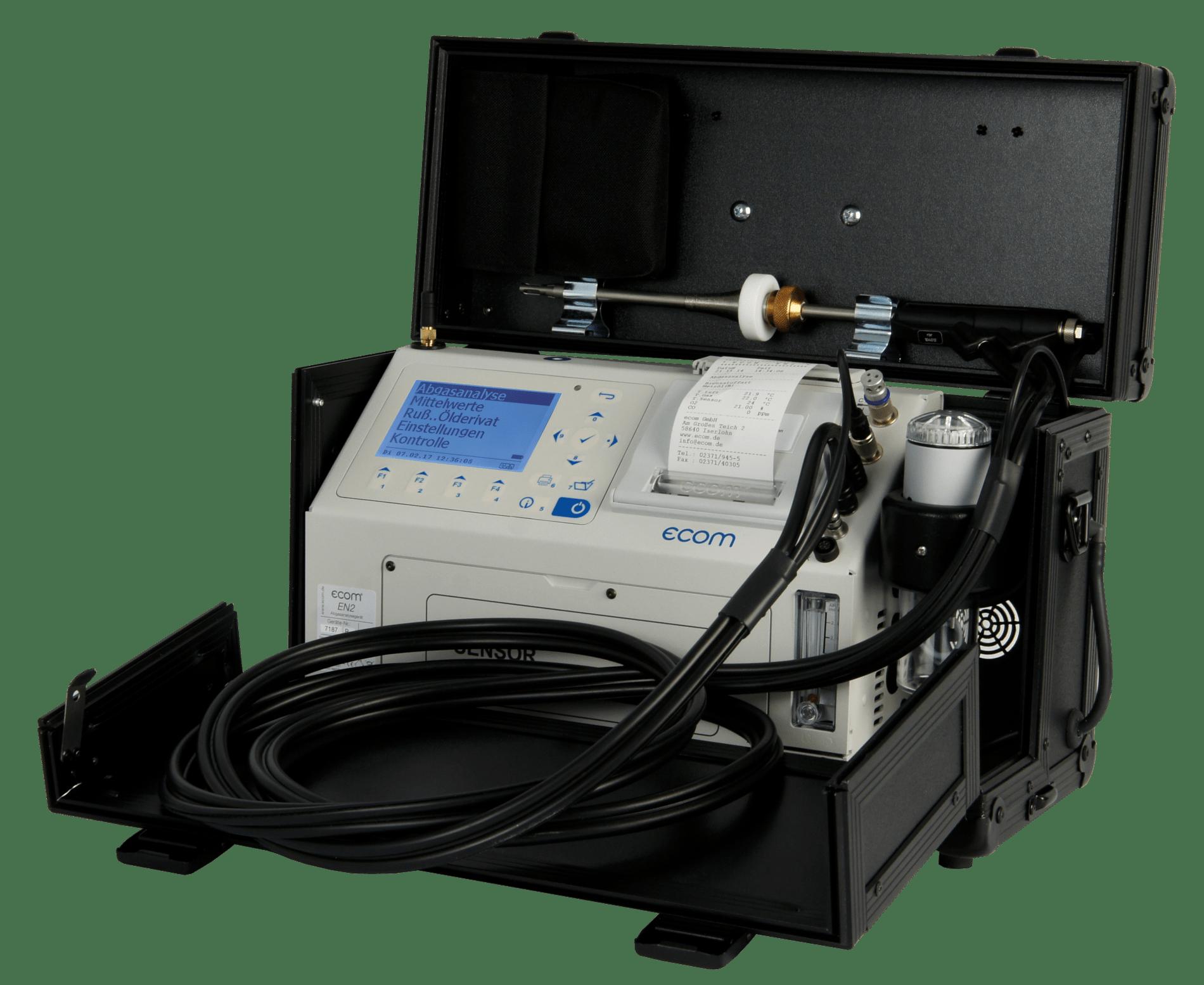 ecom-EN2 - Abgasanalysegerät für Heizungs-Anwendungen