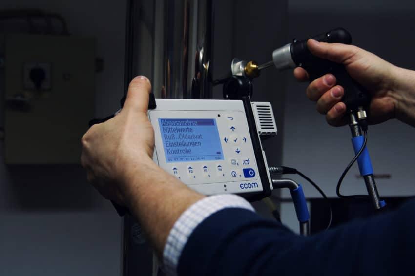 ecom-D - Handliches Abgasanalysegerät für industrielle Anwendungen