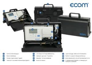 ecom-CL2 - Abgasmessgerät details