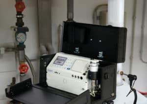 ecom-EN3 - Abgasmessgerät Anwendung
