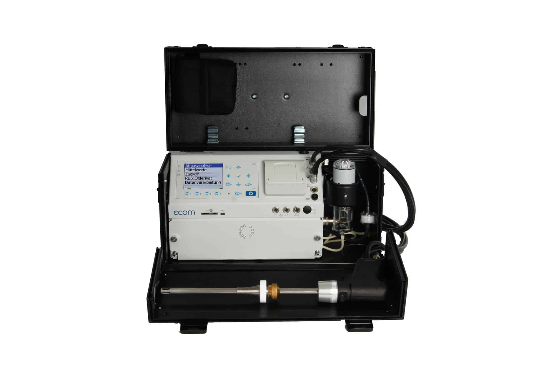 ecom-EN3-R Abgasanalysegerät mit integrierter Rußmessung