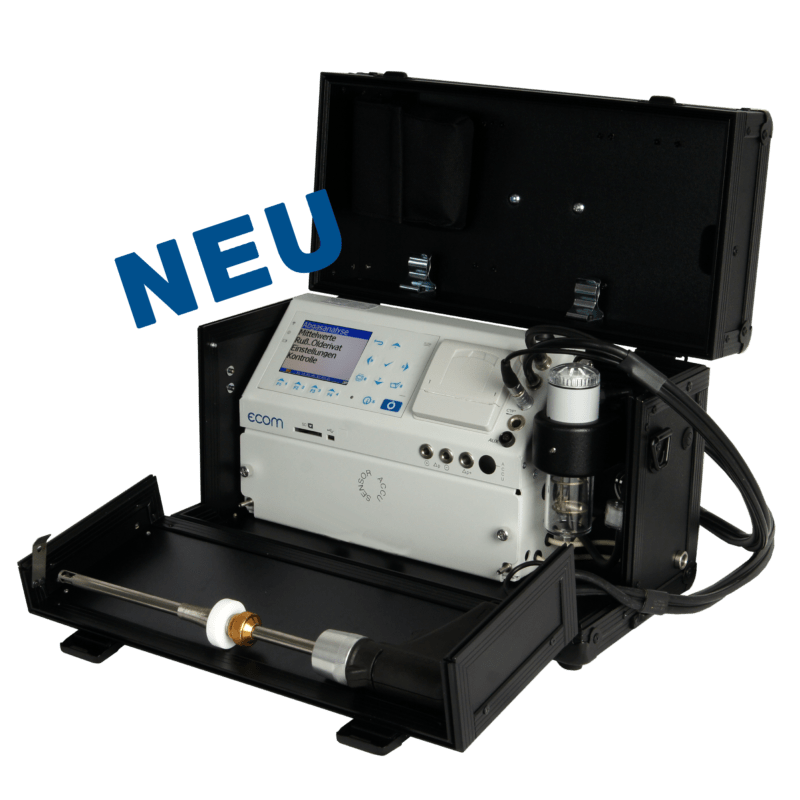 ecom-EN3-R - Abgasmessgerät mit integrierter Rußsmessung