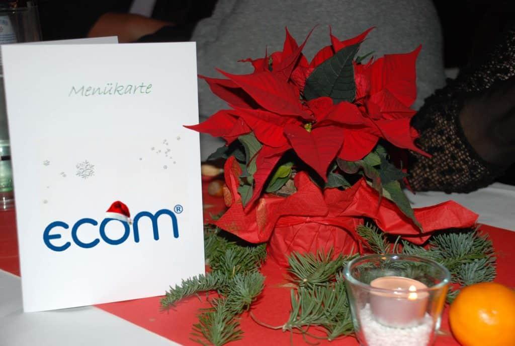 ecom Weihnachtesfeier