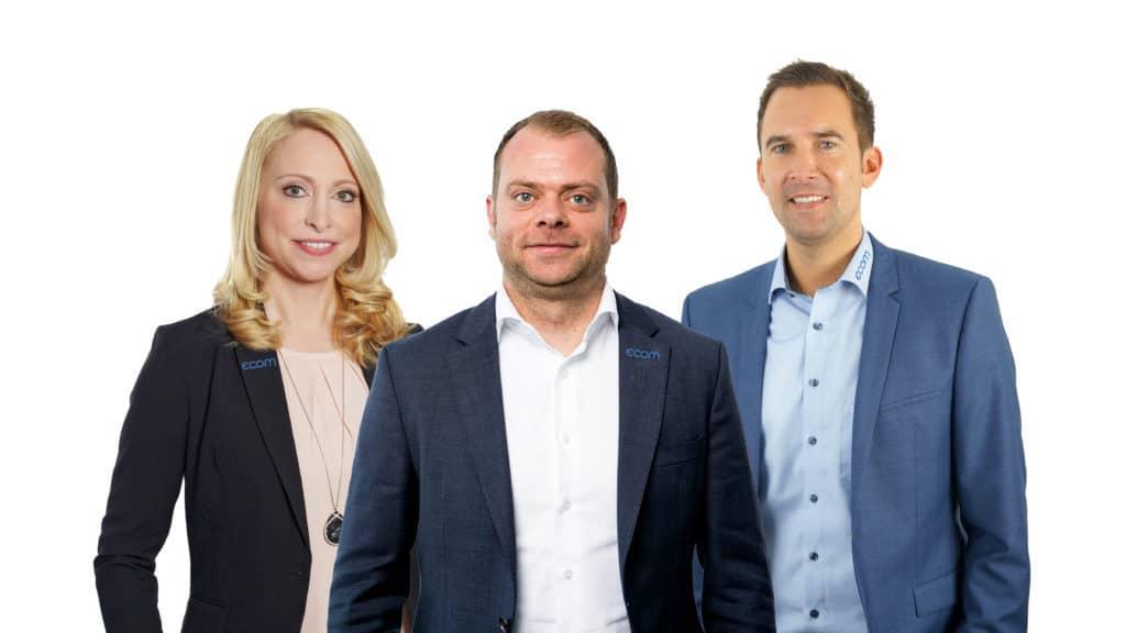Geschäftsleitung der ecom GmbH